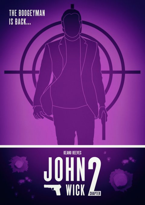 John Wick Chapter 2 Alternative Film Poster