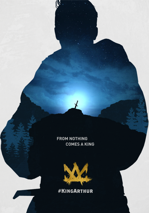 King Arthur: Legend of the Sword poster art