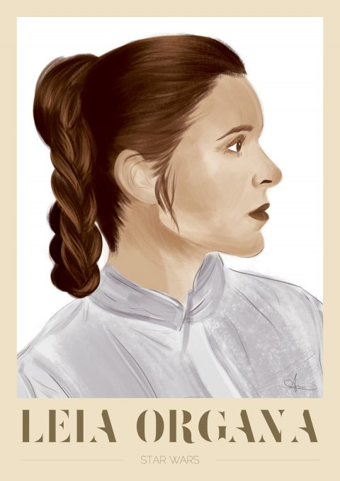 A Star Wars Character: Leia Organa