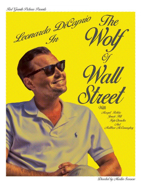 The Wolf of Wall Street Pop Art Alternative Poster