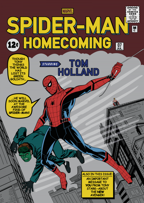 SPIDER-MAN: HOMECOMING Tribute Cover