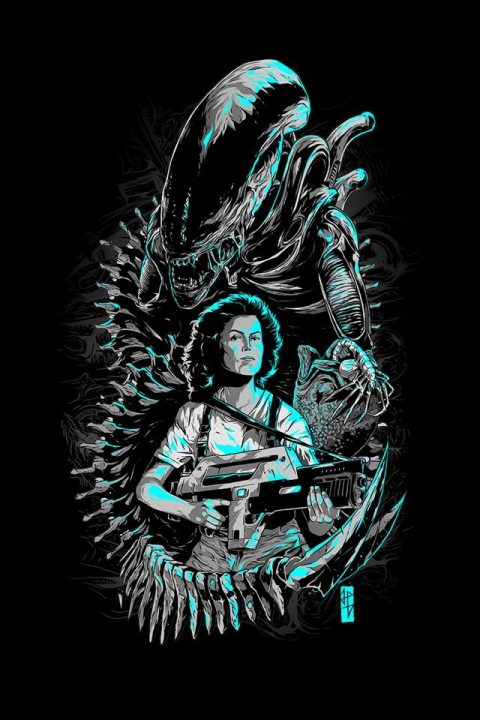 ALIEN Mother Ripley posters