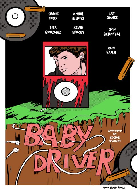 Bloody Ipod (BABY DRIVER)