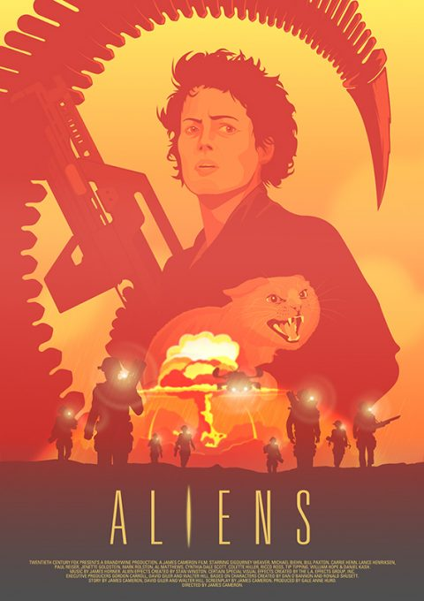 Aliens (Ripley and Jonesy) Version 1