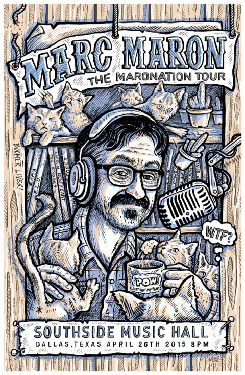 MARC MARON – MARONATION TOUR POSTER