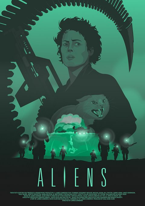 Aliens (Ripley and Jonesy) Version 2