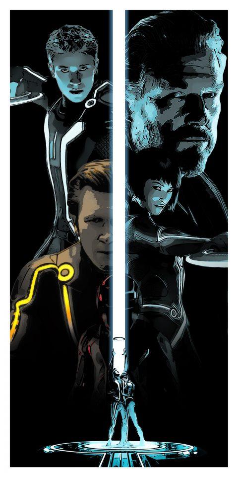 Tron Legacy Alternative Movie Poster