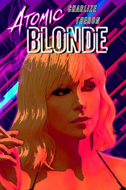 Atomic Blonde alternative poster