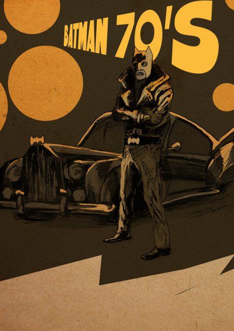 BATMAN 70's