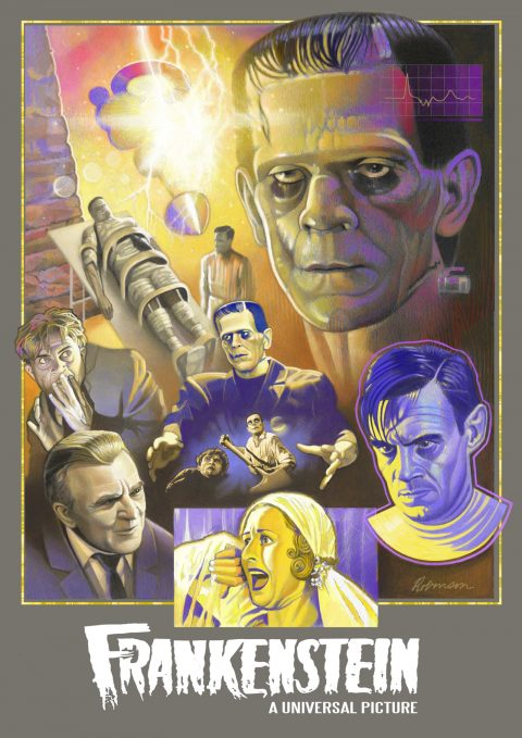 """FRANKENSTEIN"" (1931) Tribute Poster"