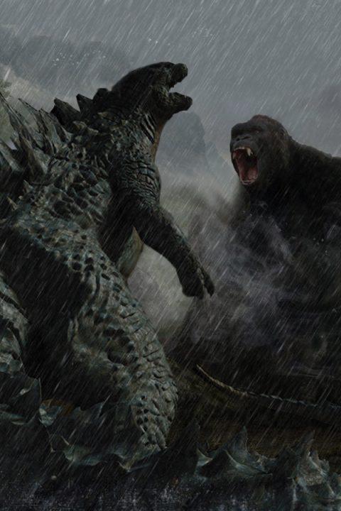 Godzilla vs King Kong concept