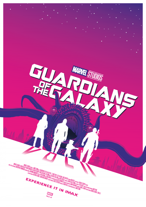 GUARDIANS OF THE GALAXY VOL.2 Poster Art