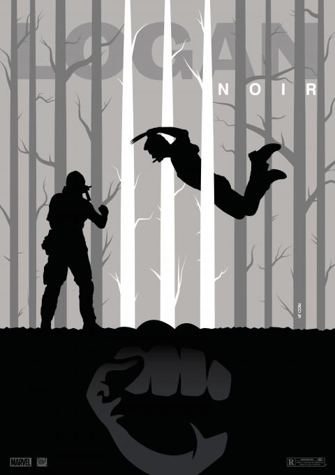 LOGAN NOIR Poster Art