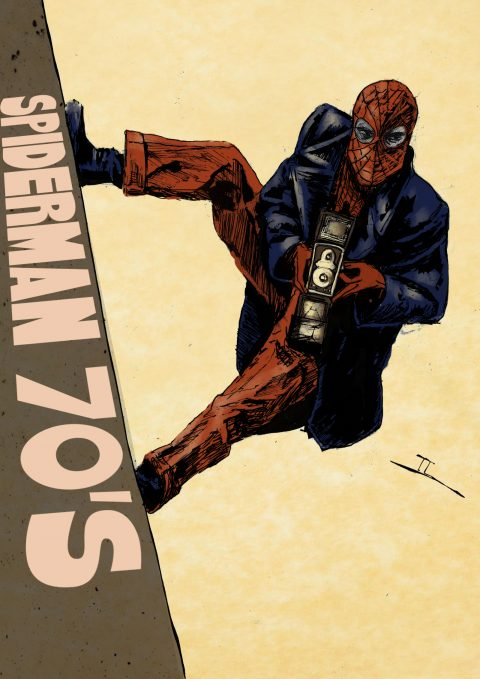 SPIDERMAN 70's