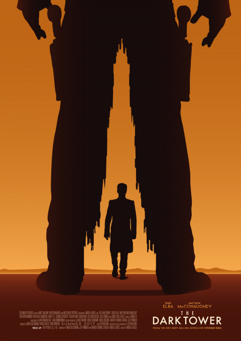 THE DARK TOWER Poster Art