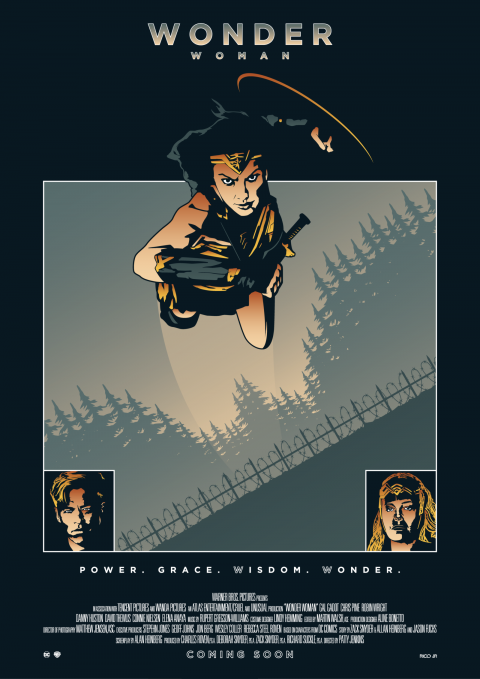 WONDER WOMAN Tribute Poster