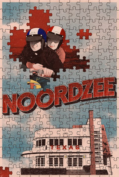 Noordzee, Texas (North Sea Texas) Poster Design