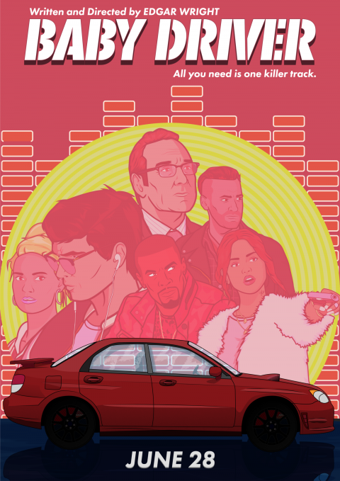 Anthony Musca Baby Driver Poster Variant.1