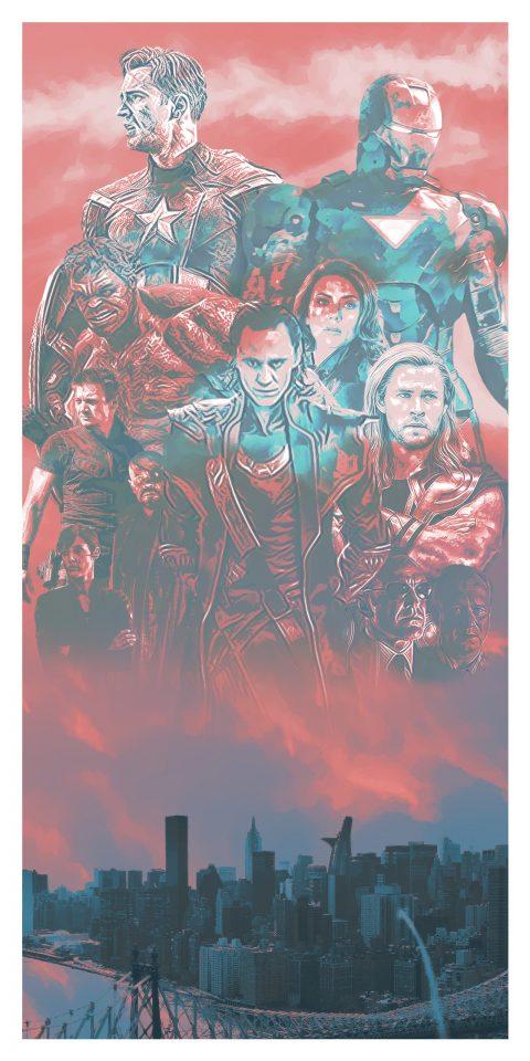 Avengers (2012) Alternative Movie Poster