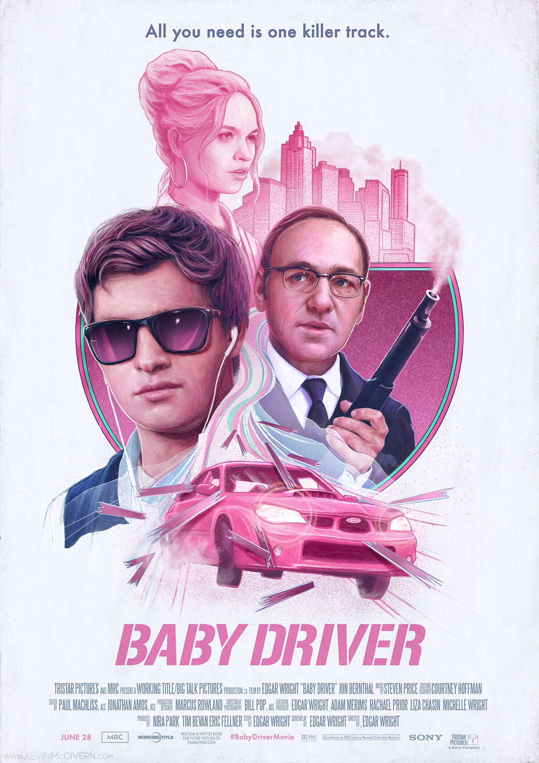"""""""Baby Driver"""" by Kevin McGivern – PosterSpy"""