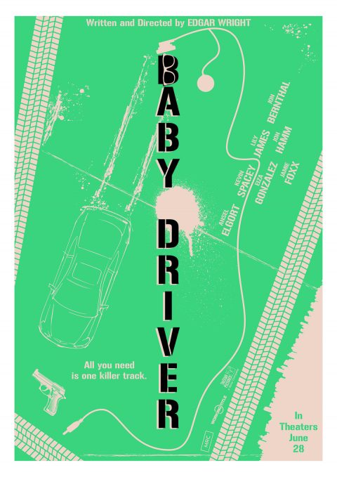 BABY DRIVER poster 1