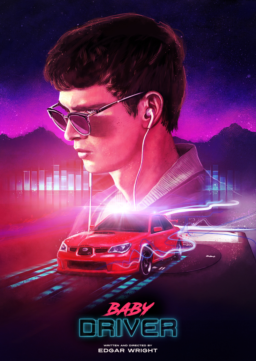 Baby Driver - PosterSp... Baby Driver
