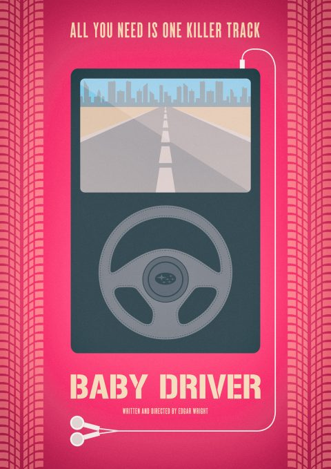 Baby Driver Poster Art