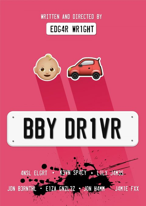 Baby Driver Emoji Poster