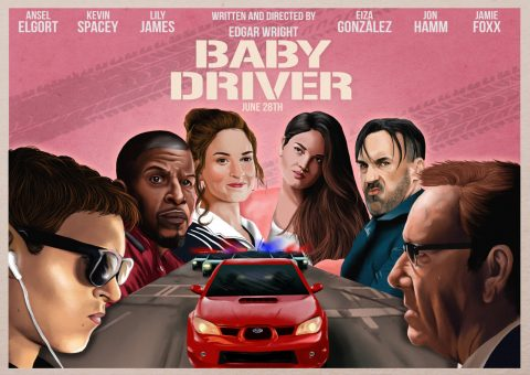 Baby Driver (Original Horizontal A3 Version) entry 2