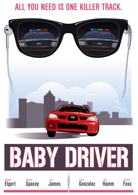 Baby Drive Movie Poster