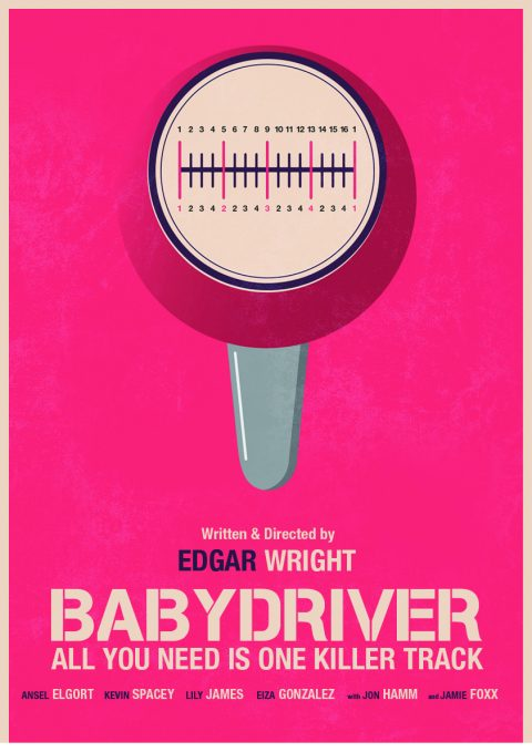 Baby Driver Beat Poster