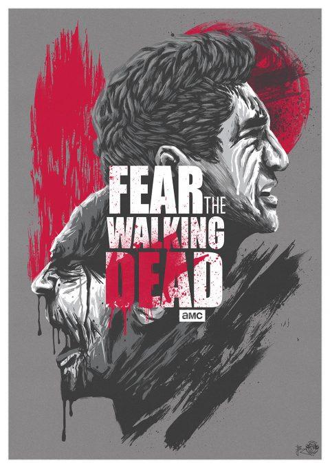 Tears and Blood ! (Fear the walking dead)