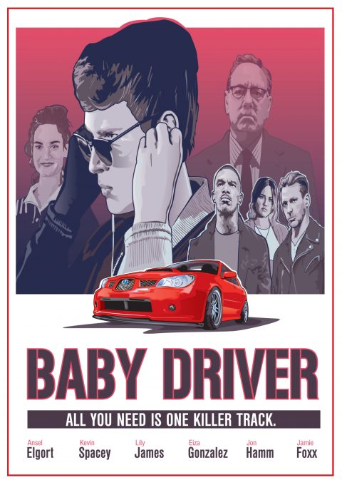 Baby Drive Poster