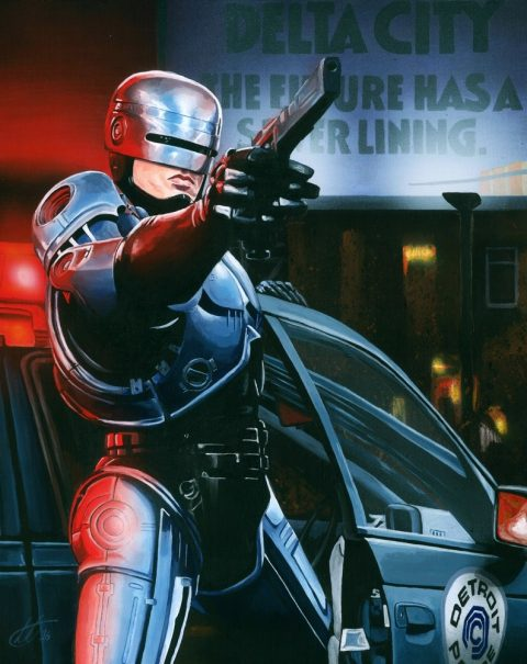 The Future Has A Silver Lining – Robocop