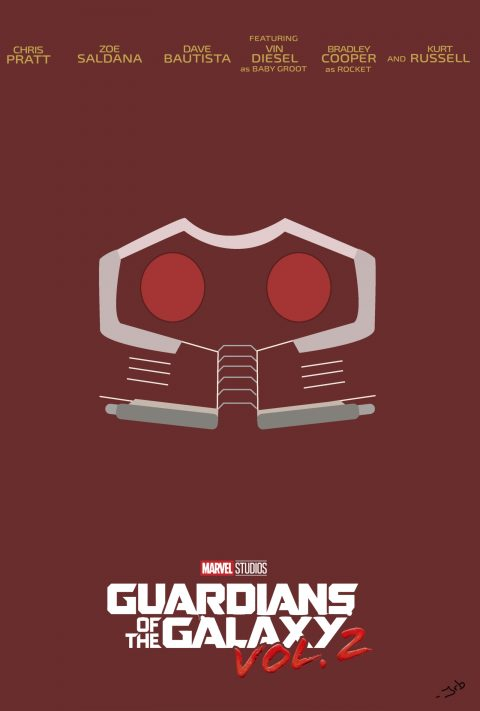 Star-Lord (Guardians of the Galaxy Vol. 2 character poster)