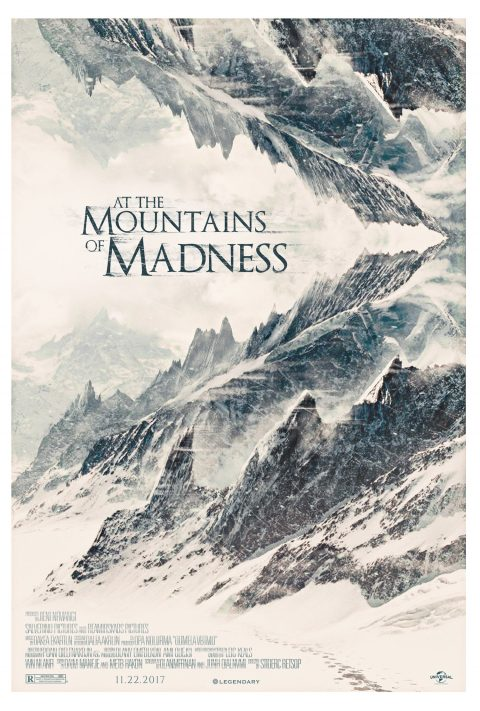 At the Mountains of Madness Concept Poster v.2