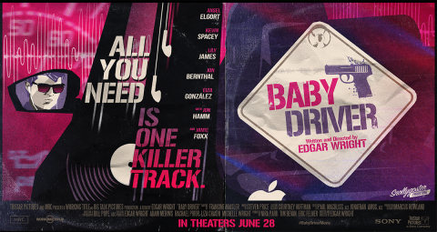 "Baby Driver ""Baby On Board"""