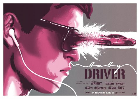 Baby Driver ! (Variant #2)