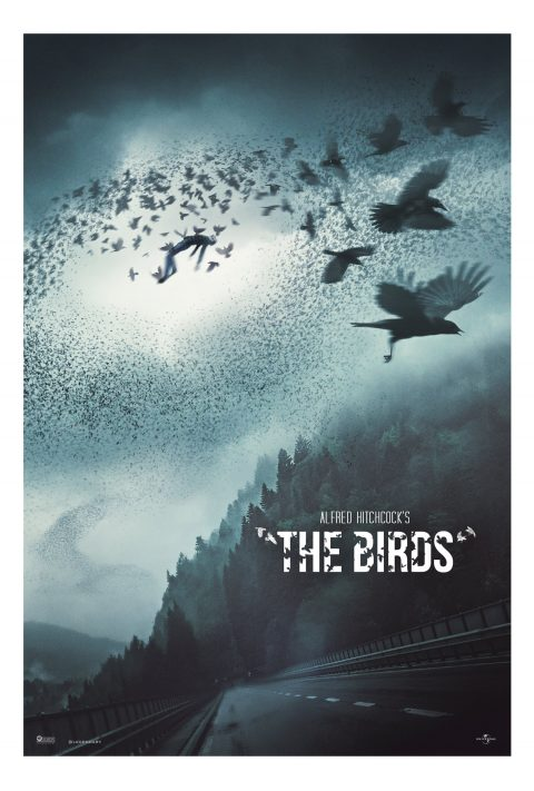 """The Birds"" Poster ver.1"