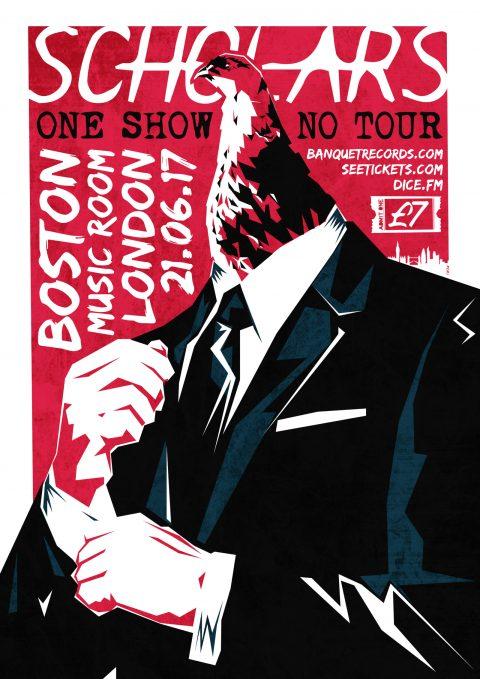 Scholars – One Show, No Tour