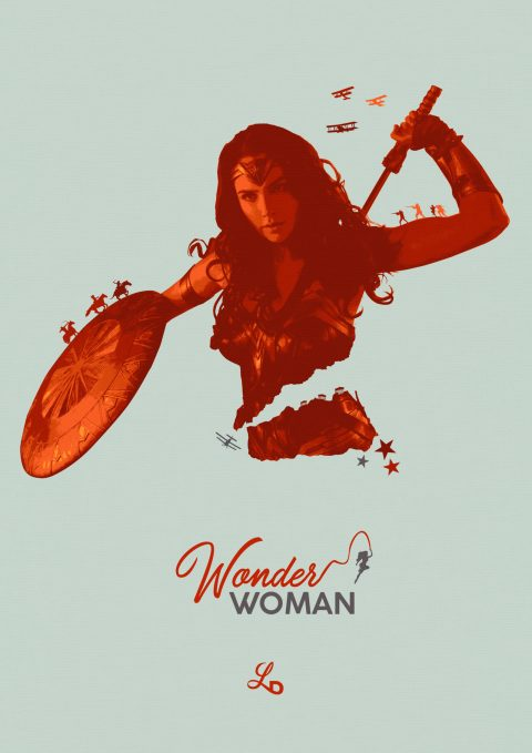 They do not deserve you – Wonder Woman