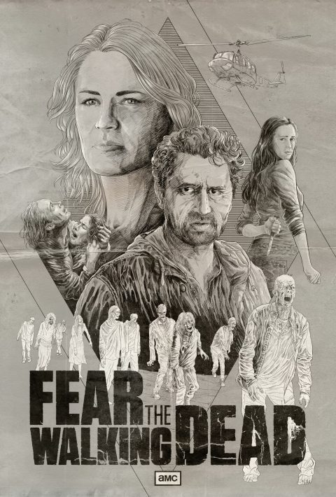 Fear The Walking Dead by Cristian Sánchez