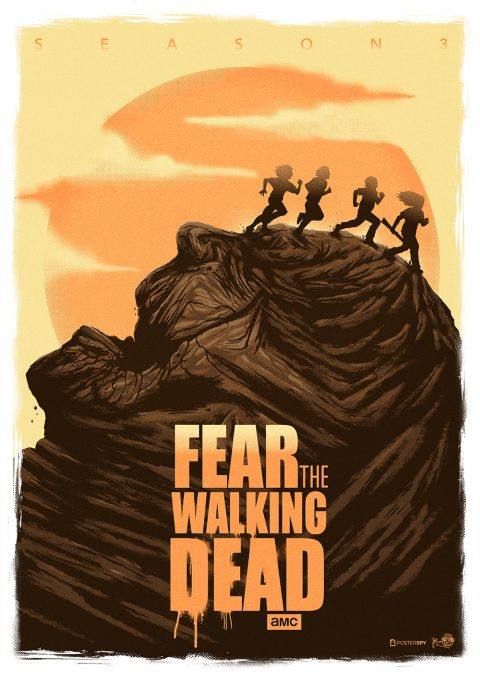 Fear the Walking Dead !