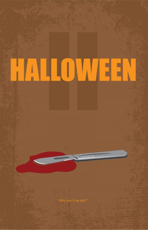 Halloween 2 Alternative Movie Poster