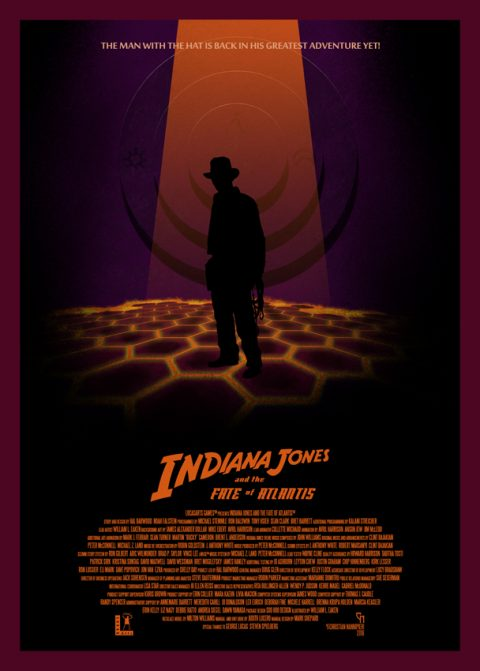Indiana Jones and the fate of Atlantis (lava version)