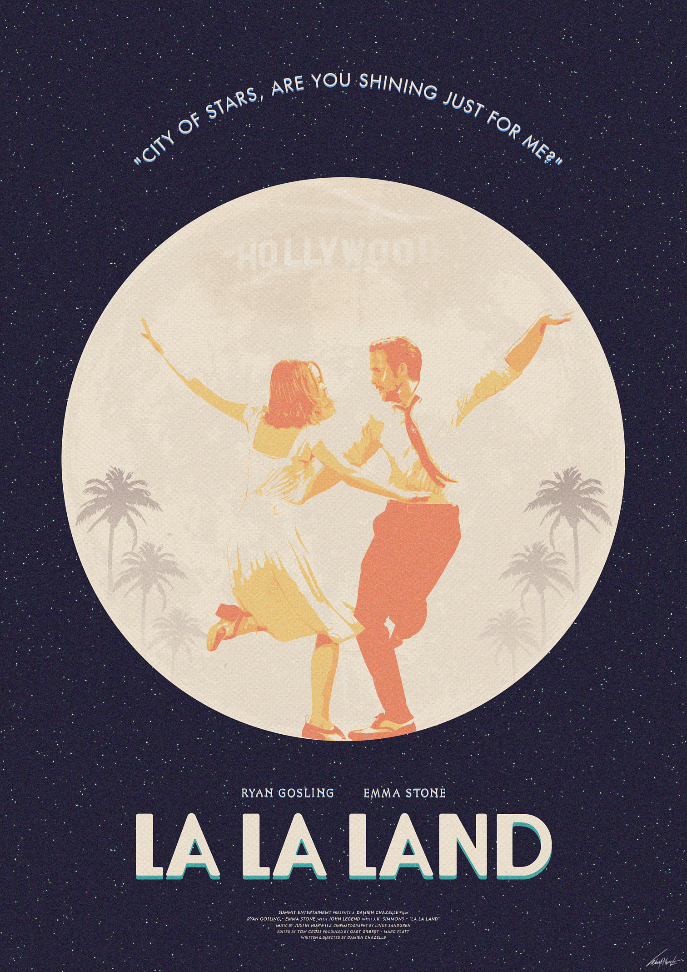 City Of Stars La La Land Posterspy