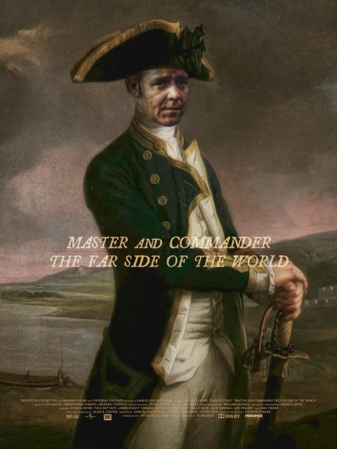 Master and Commander The Far Side of the World Alternative Poster