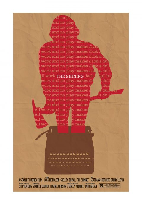 The Shining – All Work And No Play – Alternative Poster