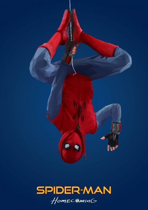 Spiderman Homecoming Prototype poster