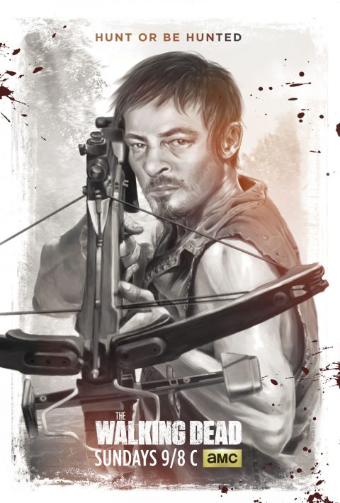 The Walking Dead | Character Poster for Daryl